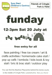 Beehive funday july 2013