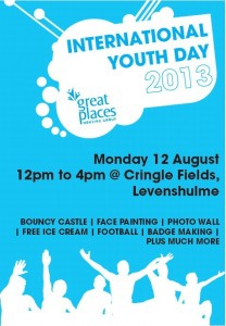 Cringle Fields Open Day and International Youth Day