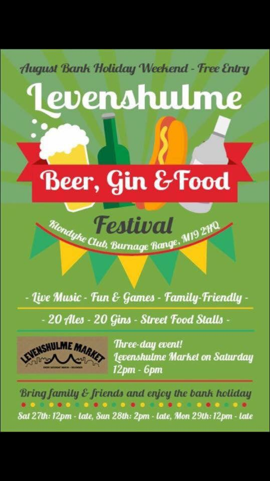 Levenshulme Beer Gin And Food Festival